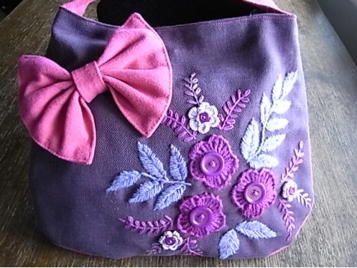 Hand Embroided Hand Bag